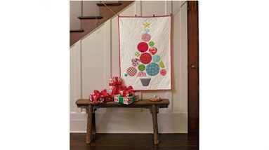 ball tree wall quilt